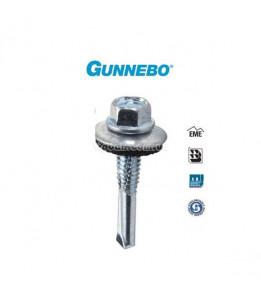 Саморез оцинк кровельный GUNNEBO по металлу 5,5х35мм