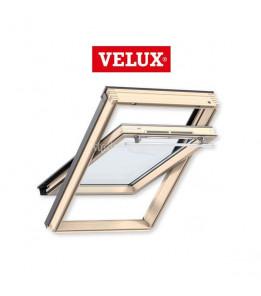 Velux Стандарт Плюс GLL 1061 двухкамерное окно из дерева ручка сверху