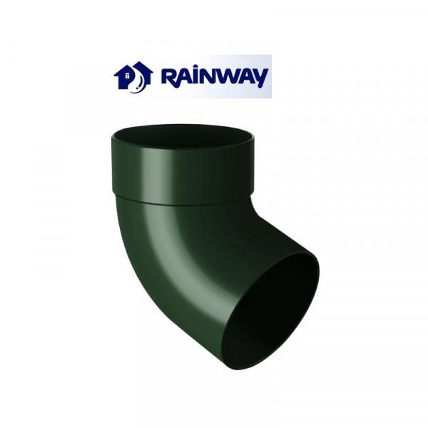 Отвод одномуфтовый 67º RainWay Ø75