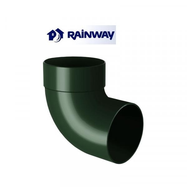Отвод одномуфтовый 87º RainWay Ø75