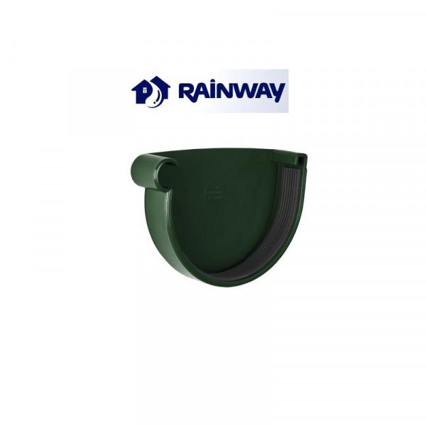 Заглушка желоба левая RainWay Ø90