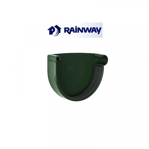 Заглушка желоба правая RainWay Ø90