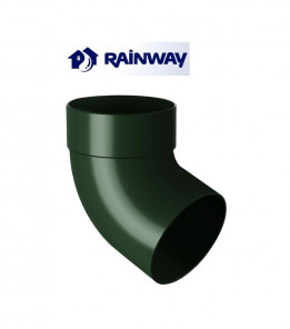 Отвод одномуфтовый 67º RainWay Ø100