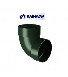 Отвод двумуфтовый 87º RainWay Ø100
