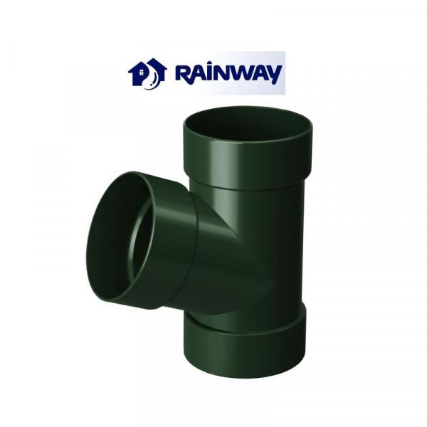 Тройник RainWay Ø75