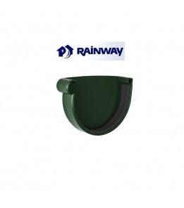 Заглушка желоба левая RainWay Ø130