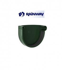 Заглушка желоба правая RainWay Ø130