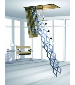 Лестница ROTO ELEKTRO с электроприводом