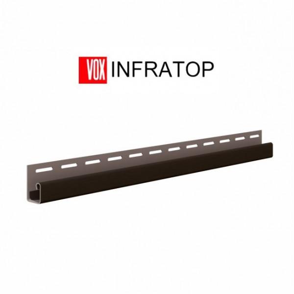 Планка  J-trim VOX INFRATOP