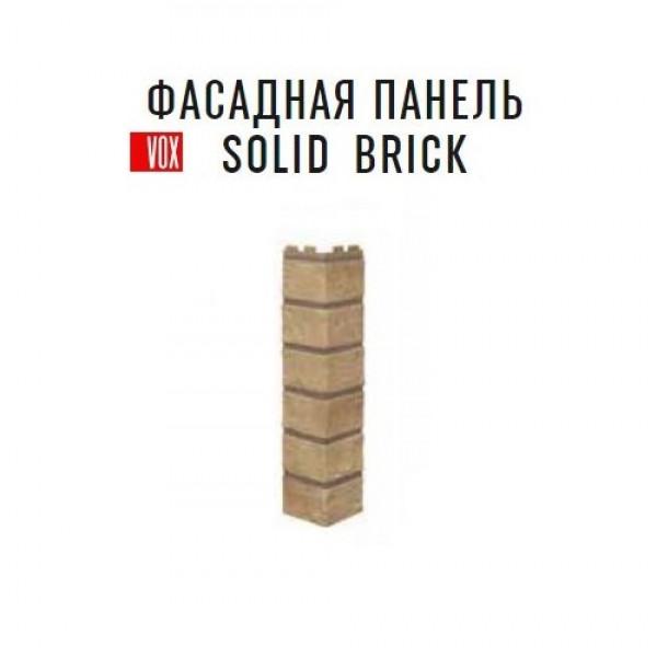 Угол наружный Vox Solid Brick