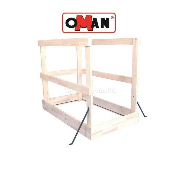 Защитный деревянный барьер OMAN