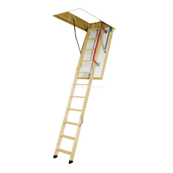 Лестница FAKRO LTK Thermo из дерева
