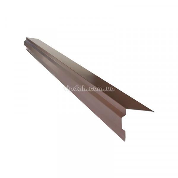 Планка ветровая фигурная L=2000