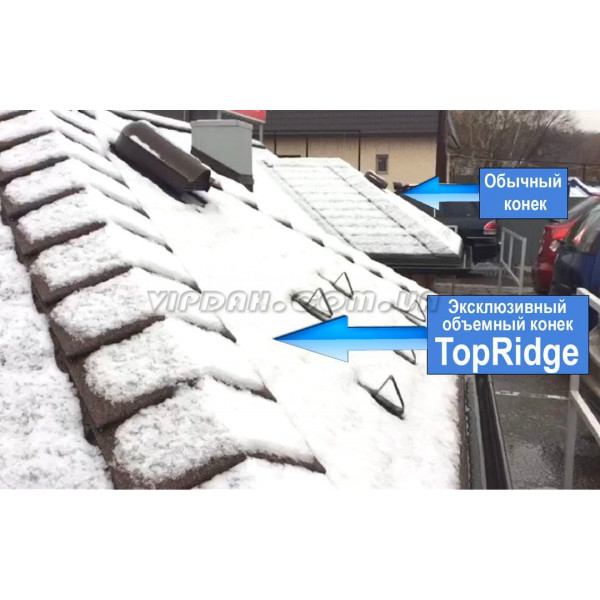 Объемный конек Katepal Top Ridge (6м)