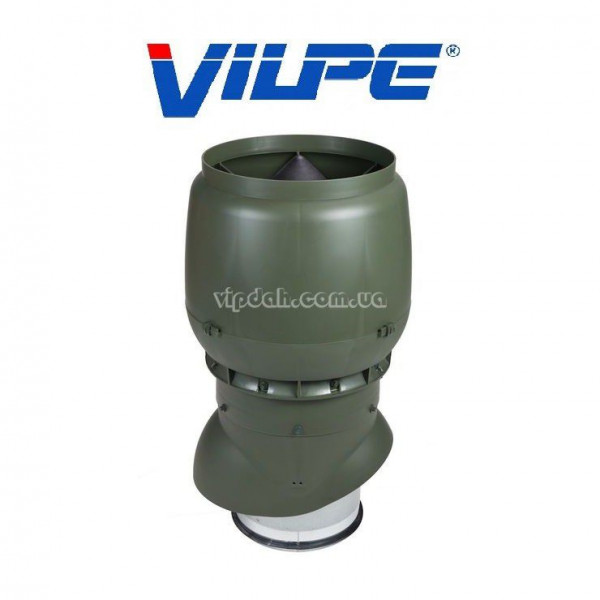 Вентиляционный выход Vilpe xl 500мм, Ø250 утепленный+колпак