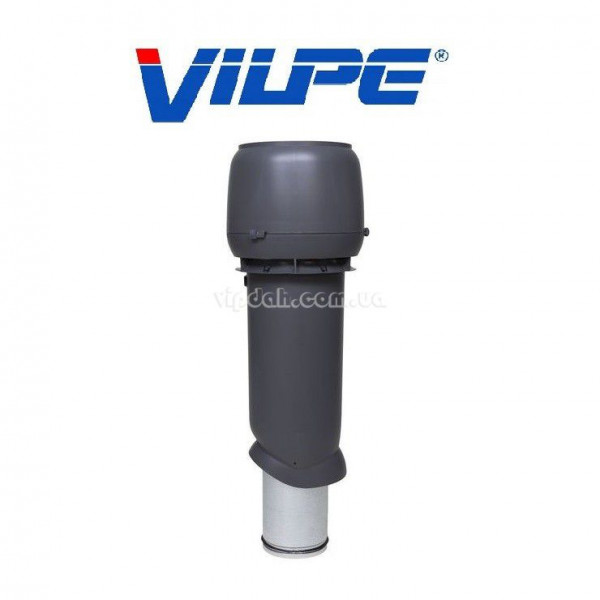 Вентиляционный выход Vilpe 700мм, Ø160 утепленный+колпак