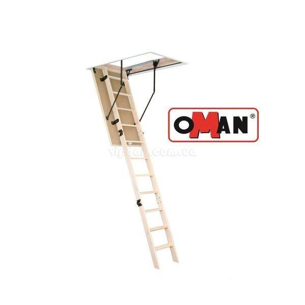 Лестница OMAN Prima из дерева