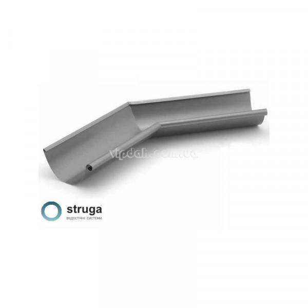 Угол желоба внутренний с произвольным ° STRUGA Ø150
