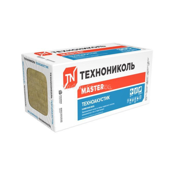 Базальтовая вата ТЕХНОНИКОЛЬ ТЕХНОАКУСТИК 100мм