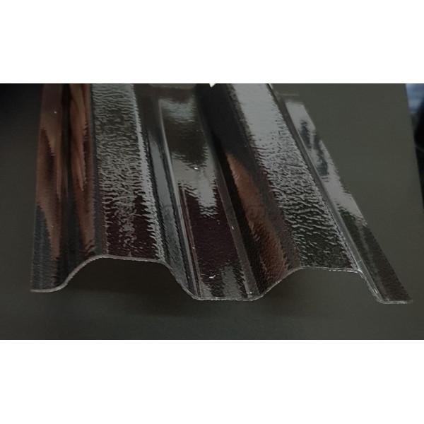 Поликарбонатний шифер Rober трапеция бронзовый 0,8мм