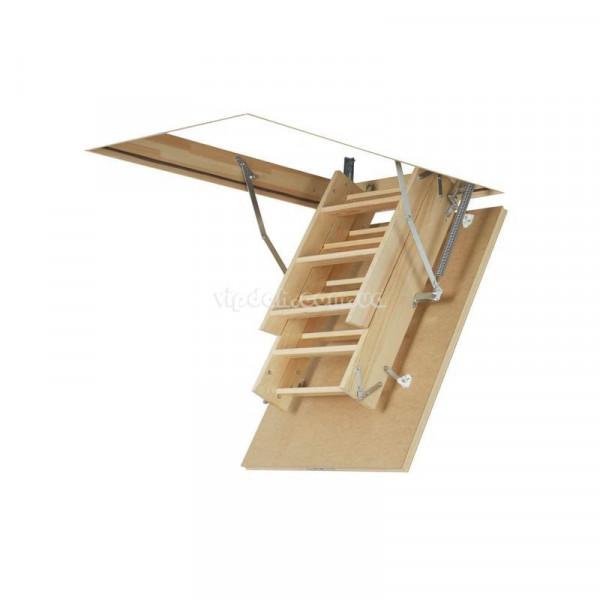 Лестница FAKRO LWS Smart из дерева