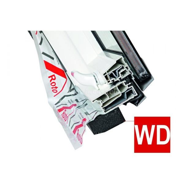 Roto Designo R45 из пластика с центральной осью поворота створки