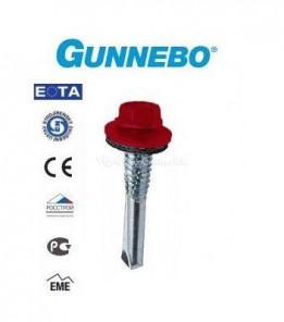 Саморез цветной кровельный GUNNEBO по металлу 5,5х35мм