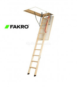 Лестница FAKRO LWK Komfort из дерева