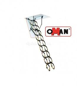 Лестница OMAN Flex Termo Metal box из металла