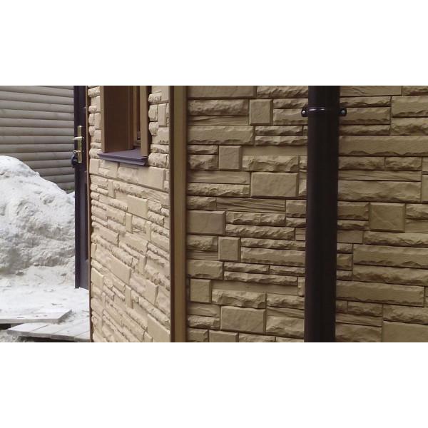Фасадная панель Alta-Profil Скалистый камень