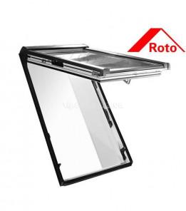 Roto Designo R8 с двумя осями поворота дерево/пластик