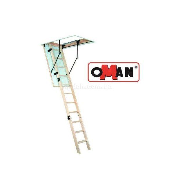 Лестница OMAN MAXI из дерева