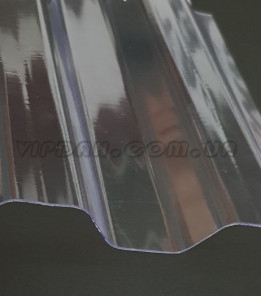 Поликарбонатний шифер Rober трапеция прозрачный 0,5мм
