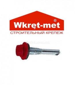Саморез цветной кровельный Wkret-met по металлу 5,5х32мм